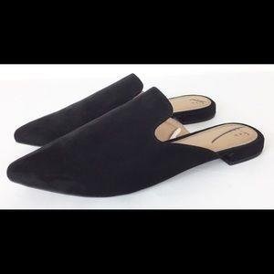 A New Day Velma pointy toe mules flats